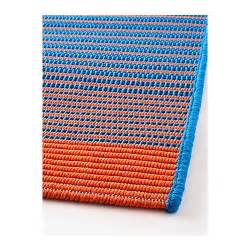 Ikea Outdoor Rug Mejlby Rug Flatwoven In Outdoor Blue Orange 200x300 Cm Ikea