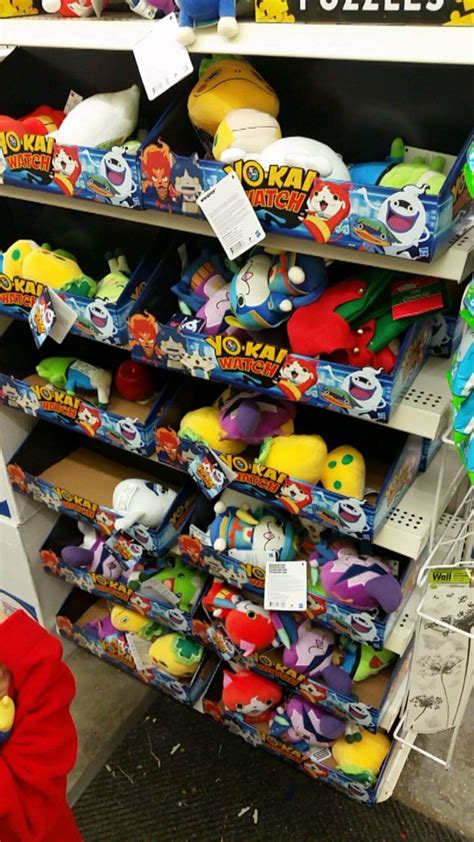 found all of these plush for 1 at our local dollar tree