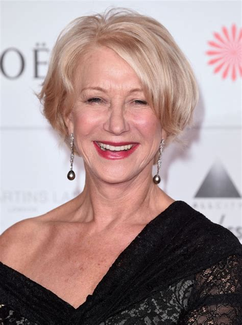 good hairstyles for 60 year olds helen mirren at 70 that s not my age