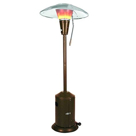 Mirage Heat Focusing Patio Heater Mirage 38 200 Btu Bronze Heat Focusing Propane Gas Patio Heater Honeydo Advisor