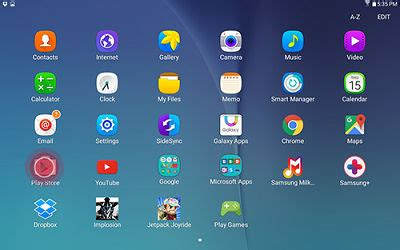download an app from the google play store on your samsung