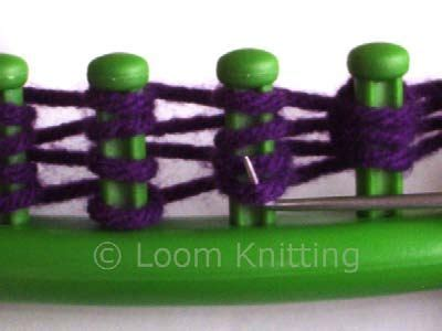 different stitches on knitting loom different stitches on the loom crochet and