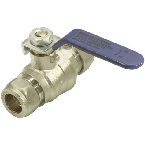 Valves Plumbing by Lever Valve 15mm Blue Toolstation