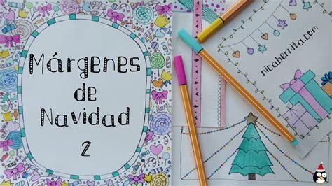 imagenes de navidad para decorar hojas m 193 rgenes para portadas de cuaderno y bordes para decorar