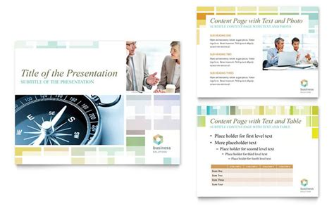 business solutions consultant powerpoint presentation