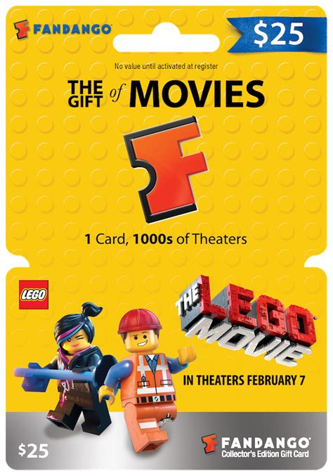 Movie Gift Cards - fandango introduces the lego movie gift cards giveaway rockin mama