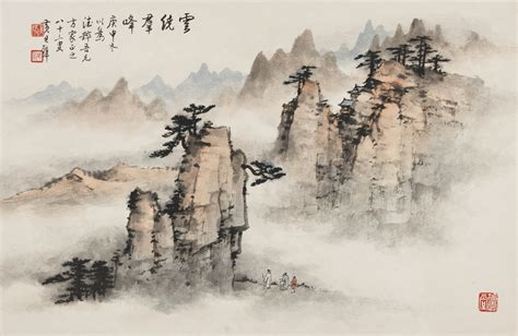 china painting mountains and waters landscape paintings from china