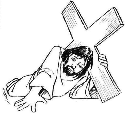 imagenes de la vida de jesus para pintar fotos de jesus na cruz para colorir