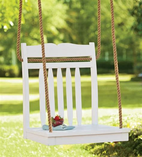 hanging tree swing chair pin by amy rothmeyer on gardening pinterest