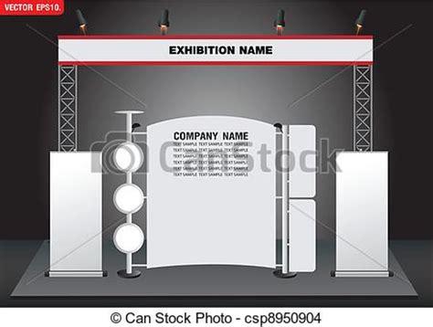 booth layout en francais eps vector of vector exhibition booth design csp8950904