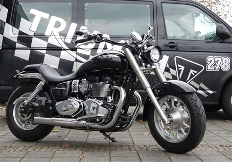 Triumph Motorrad America by Umgebautes Motorrad Triumph America Kehl