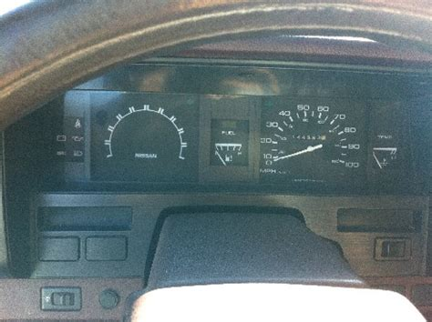 check engine light then solid 1992 nissan cyl 5speed check engine light