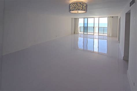 white glossy laminate floors modern miami by glace floors