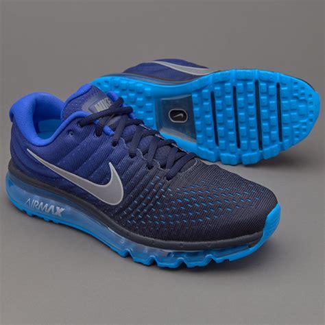Sepatu Nike Air Blue sepatu sneakers nike air max 2017 obsidian white