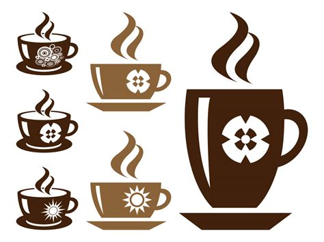 14 coffee steam vector images coffee cup vector art free