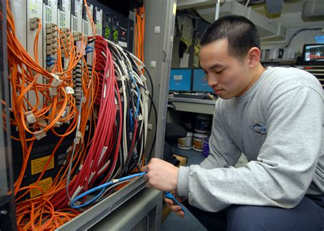 Hardware Technician by File Us Navy 080823 N 9079d 042 Information Systems Technician 3rd Class Justin K From