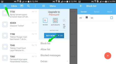 how do i block text messages on my android phone how to block text messages on android drippler apps news updates accessories