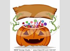 Clipart Candy Jackolantern Holding Up A Blank Wood ... About:blank Free Halloween Clipart