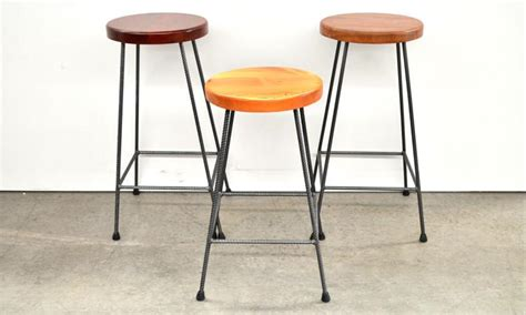 pine bar stools perth marric jarrah and recycled baltic pine industrial iron