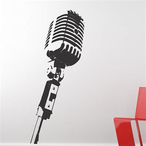 quot microphone music audio stencil designer studios reviews online shopping designer