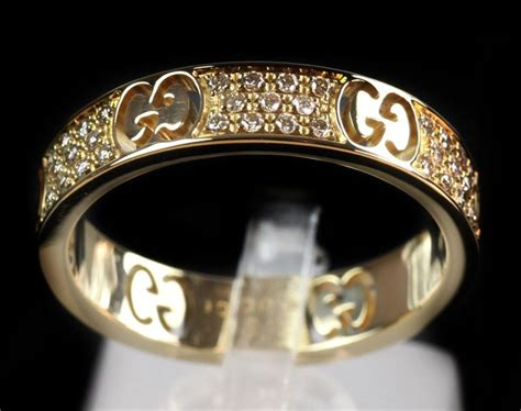 gucci icon stardust 18ct yellow gold ring