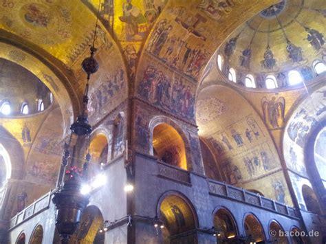 markusdom innen venedig foto mosaiken im markusdom bildergalerie