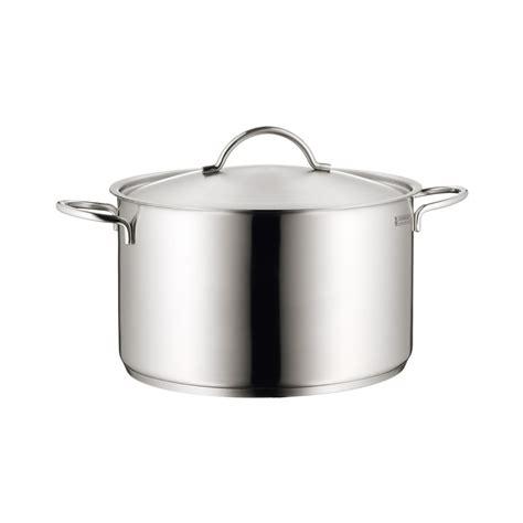 Happy Cook Casseroll Pot 28cm 1a neuware wmf stock pot high casserole 10 litre 28 cm induction alles f 252 r tisch und k 252 che