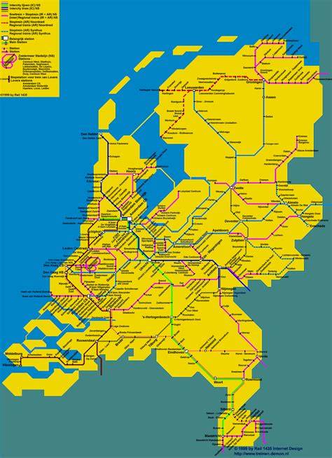 netherlands map ns travel advice for the netherlands