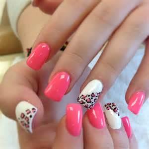 pink zebra cool design nail designs picture