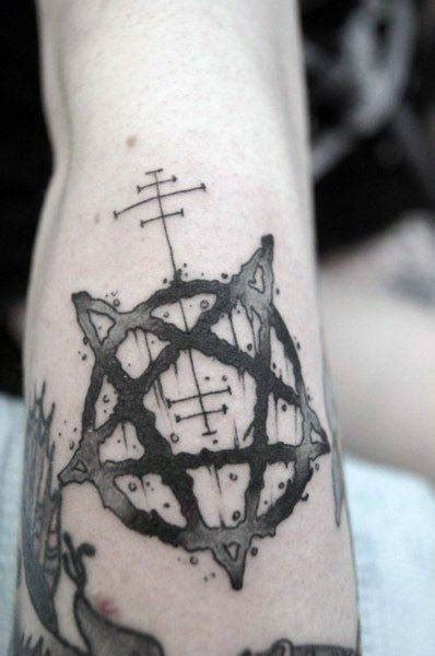 pentagram tattoo designs 50 pentagram designs for five pointed ideas