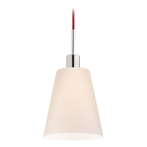 Modern Pendant Lighting Modern Mini Pendant Light With White Glass 3562 01r Destination Lighting