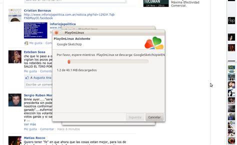 sketchup layout linux google sketchup en ubuntu taringa