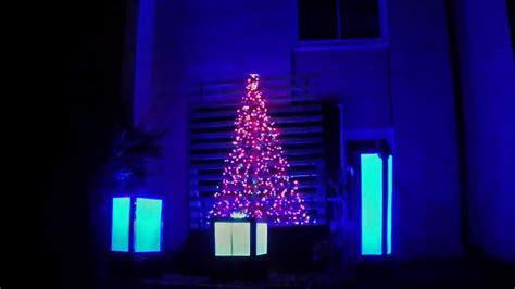 Carol Of The Bells Dubstep Christmas Light Show 2015 Dubstep Light Show