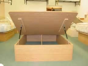 modern style of hydraulic lift storage bed interior