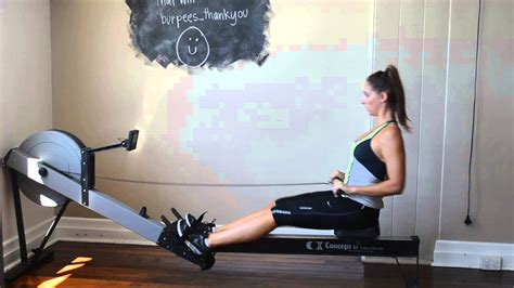 rowing machine best exercises to lose weight and tone up