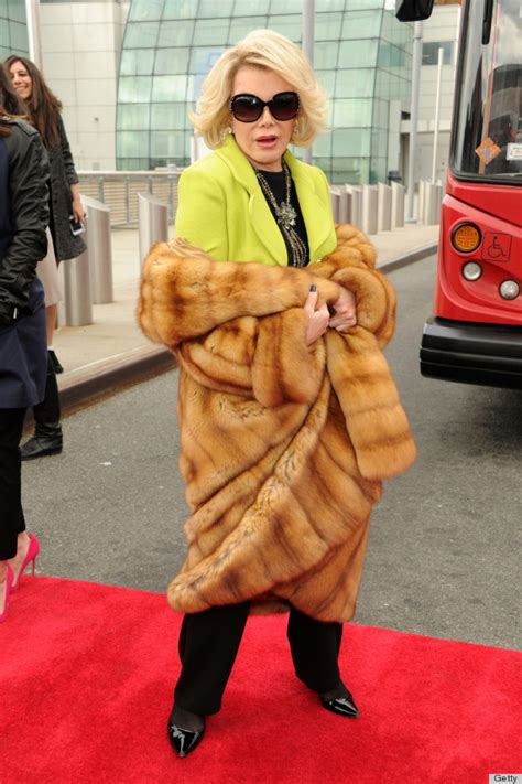 can i wear a ton to bed joan rivers birthday her funniest fashion disses photos