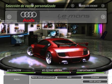 mod game nfs underground 2 need for speed underground 2 audi r8 quattro lemans nfscars