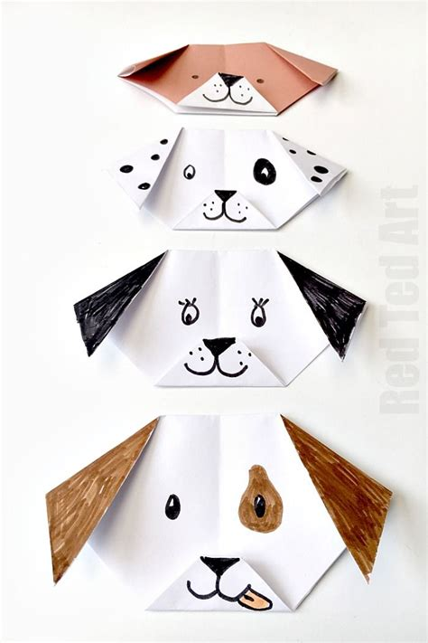 How To Make A Puppy Out Of Paper - best 20 easy origami animals ideas on pinterest no signup