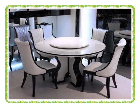 White Marble Kitchen Table European Style Marble Dining Table Rotary White Kitchen Table Selling In Dining Tables