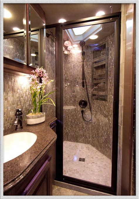 small rv with bathroom motorhome shower my kind of cing pinterest