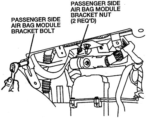 service manual removal of pcm from a 1991 mercury sable mercury sable 1992 1995 mercury service manual how to remove air bag on a 1991 subaru legacy repair guides steering steering