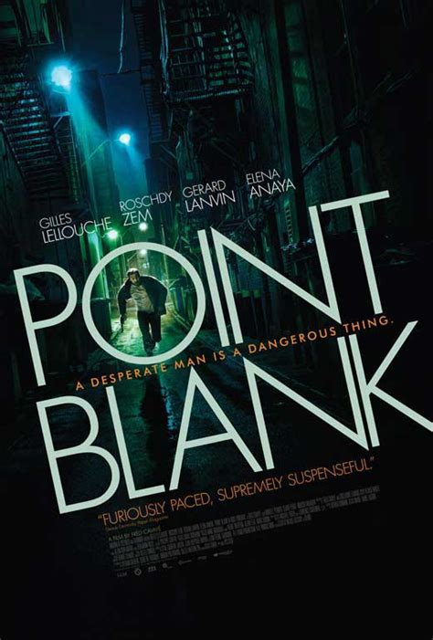 Kaos Point Blank Logo Black Only point blank posters from poster shop