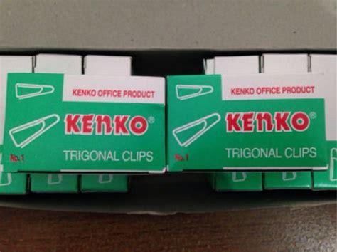 Klip Kertas Trigonal distributor alat tulis kantor dan stationary paper clip no