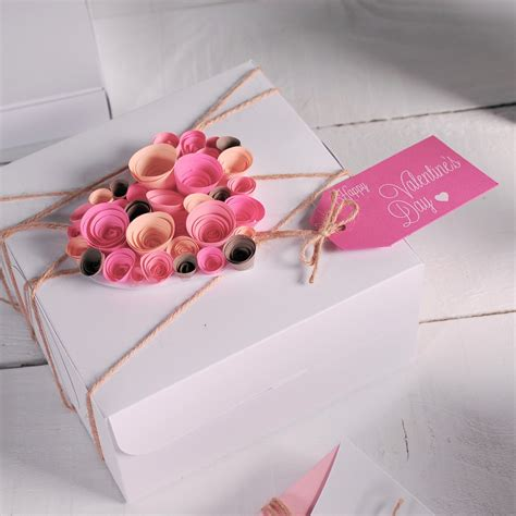 gift packing ideas gift wrapping ideas box packaging pink romantic card