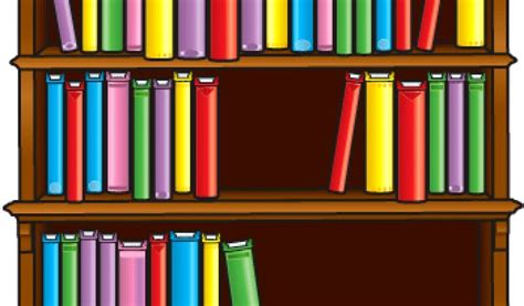 best bookshelf clipart 14986 clipartion