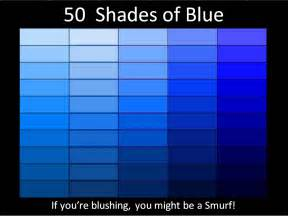 shades of 50 shades of blue picture wit
