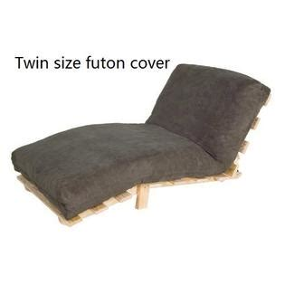 fitted futon cover octorose octorose 174 bonded micro suede easy fit fitted