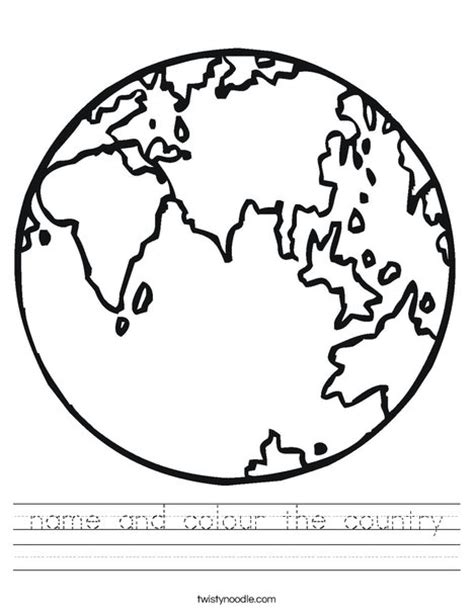 coloring book how great name and colour the country worksheet twisty noodle