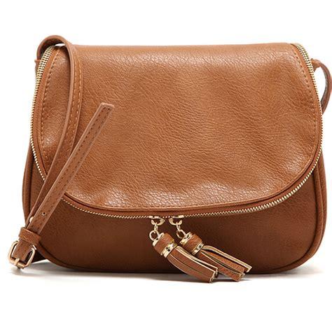 shoulder bag leather sale tassel bag leather handbags cross