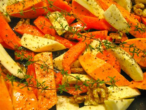 Oven Roasted Root Vegetables Balsamic - honey roasted vegetables recipes dishmaps